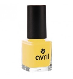 Avril Vernis à ongles 7ml Jaune Curry pas cher