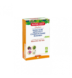 Superdiet Solution Buvable Quatuor Digestion 20 Ampoules pas cher