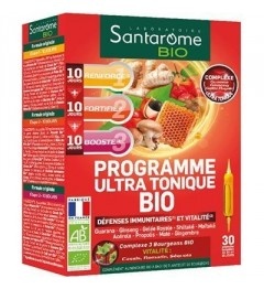 Santarome Bio Programme Ultra Tonique 30 Ampoules