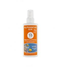 Alphanova Sun Bio SPF15 Spray 125 Grammes pas cher