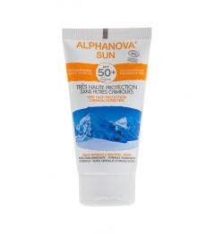 Alphanova Sun Bio SPF50 Sans Parfum 50 Grammes pas cher