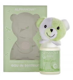 Alphanova Eau de Senteur Bébé 100Ml Baby Green