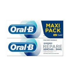 Oral B Dentifrice Répare Blancheur 2x75Ml