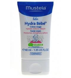 Mustela Hydra Bébé Crème Visage 40 ml pas cher pas cher