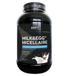 EA FIT Milk Egg 95 Volume et Définition Musculaire Vanille 2.2Kg