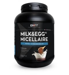 EA FIT Milk Egg 95 Volume et Définition Musculaire Chocolat 750g pas cher