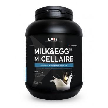EA FIT Milk Egg 95 Volume et Définition Musculaire Vanille 750g