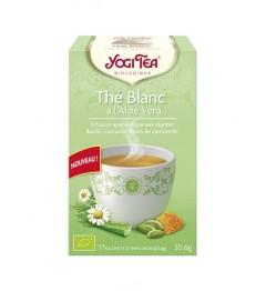 Yogi Tea Tisane Thé Blanc à l'Aloe Vera 17 Sachets