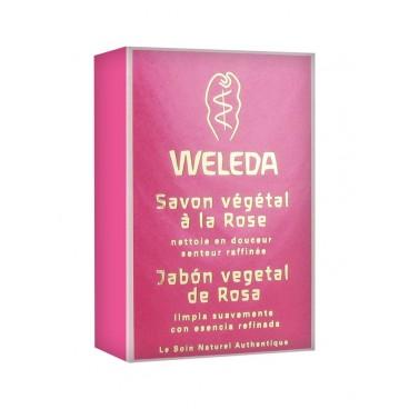 Weleda Savon Végétal à la Rose 100g