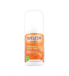 Weleda Déodorant 24 Heures Argousier Roll On 50Ml
