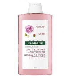 Klorane Shampoing Apaisant à l\'Extrait de Pivoine 400ml pas cher