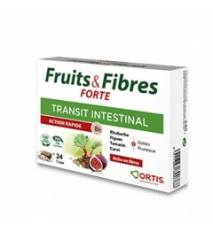 Ortis Fruits et Fibres Forte Boite de 24 cubes