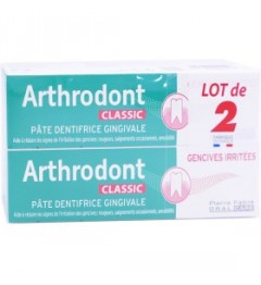 Arthrodont Pate Dentifrice Classic 2x75Ml