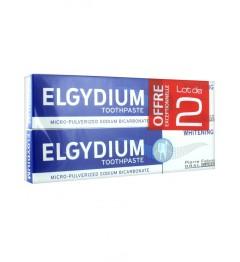 Elgydium Dentifrice Blancheur 2x75Ml