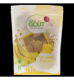 Good Gout Les Carrés Banane 50 Grammes