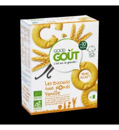 Good Gout Les Biscuits tout Ronds Vanille 80 Grammes