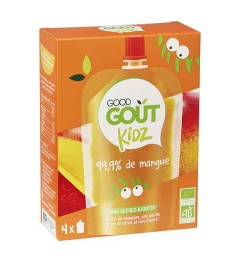 Good Gout Kidz Gourde Mangue 4x90 Grammes