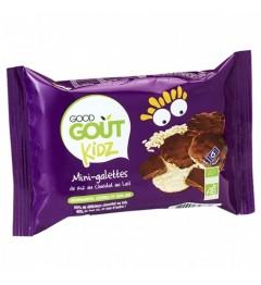 Good Gout Mini Galettes Riz Chocolat au Lait 84 Grammes