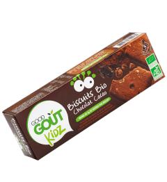 Good Gout Biscuit Animaux Nappés Chocolat 120 Grammes