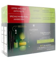 Furterer Triphasic Progressive 8 Flacons et Shampooing Triphasic 100Ml Offert