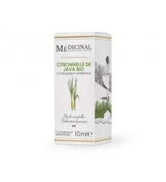 Medicinal Huile Essentielle Bio Citronnelle 10Ml