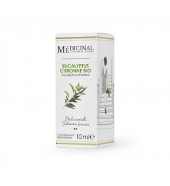 Medicinal Huile Essentielle Bio Eucalyptus Citronné 10ml
