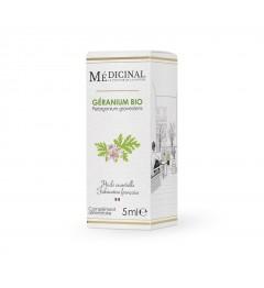 Medicinal Huile Essentielle Bio Géranium Rosa 10ml