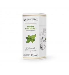Medicinal Huile Essentielle Bio Menthe Poivrée 10Ml