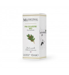 Medicinal Huile Essentielle Bio Pin Sylvestre 10Ml