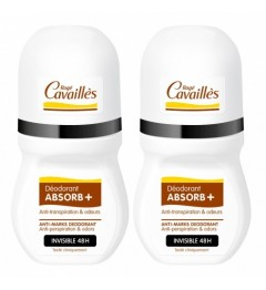 Rogé Cavaillès Déo Roll On Absorb Invisible 2x50Ml