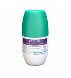 Cattier Déodorant Roll-on 24H 50 ml