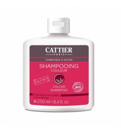 Cattier Shampooing Sans Sulfates Cheveux Colorés 250 ml