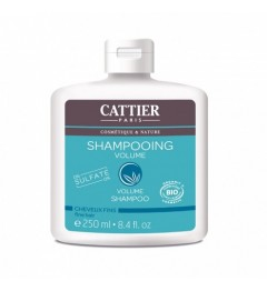Cattier Shampooing Sans Sulfates Volume 250 ml