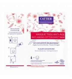 Cattier Masque tissu Anti-âge 20ml