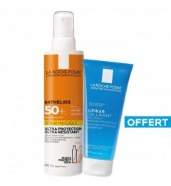 La Roche Posay Anthelios SPF50 Spray avec Parfum 200Ml et Gel Lavant 100Ml