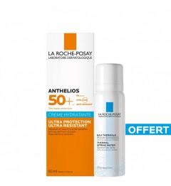 La Roche Posay Anthelios XL SPF 50 Crème Hydratante Avec Parfum 50ml et Eau Thermale 50Ml