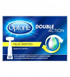 Optone Monodoses Yeux Irrités 10 Unidoses
