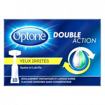 Optone Monodoses Yeux Irrités 10 Unidoses