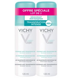 Vichy Déodorant Anti-Transpirant Spray 125ml Lot de 2