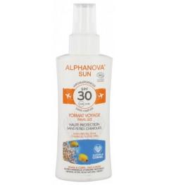 Alphanova Sun Bio SPF30 Spray Voyage 90 Grammes