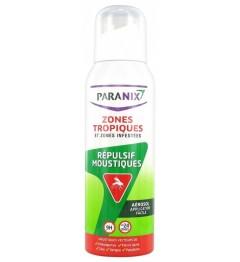 Paranix Répulsif Moustiques Zone Tropique et Zones Infestées Aérosol 125Ml