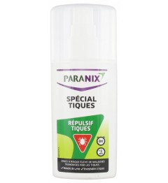 Paranix Répulsif Moustiques Spécial Tiques Spray 90Ml
