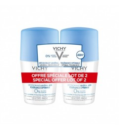 Vichy Déodorant Roll On Tolérance Optimale 2x50Ml