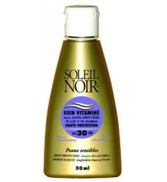 Soleil Noir Soin Vitaminé SPF30 50Ml pas cher pas cher
