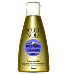 Soleil Noir Soin Vitaminé SPF30 50Ml pas cher