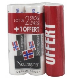 Neutrogena Stick Lèvres Lot de 3