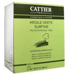 Cattier Argile Verte Surfine 1Kg