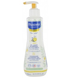 Mustela Gel Lavant Nourrissant au Cold Cream 300Ml