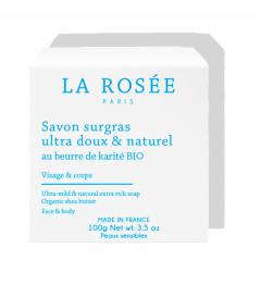 La Rosée Savon Surgras au Beurre de Karité Bio 100 Grammes