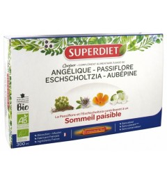 Superdiet Solution Buvable Détente 20 Ampoules